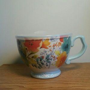 pioneer woman Accessories - Pioneer Woman Ceramic Cup with lid